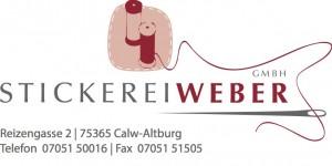 Stickerei Weber